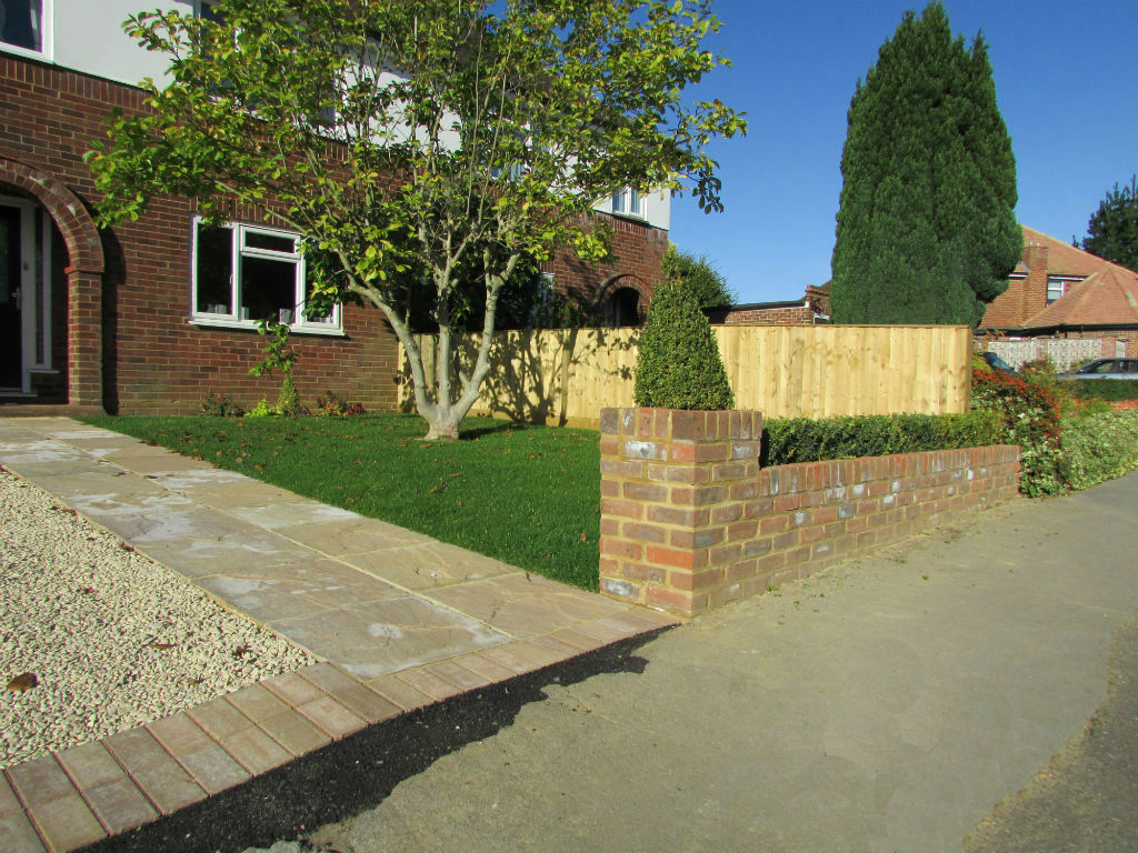 Driveway & Front Garden in Tylers Green